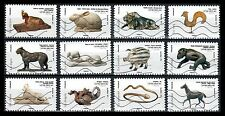 France 4316-27 Animal Sculptures [2013] [12 USED Stamps]