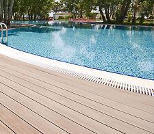 WPC Terrassen Dielen Diele Pool Holz Poolumrandung Pool Steg Boot Garten Weg