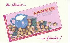 Buvard  Lanvin Chocolat au Lait Noisettes