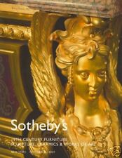 Sotheby's Catalogue 19th Century Furniture, Sculpture, Ceramics & WOA 2007  HB