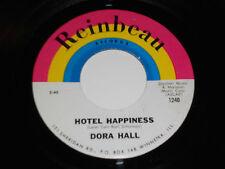 DORA HALL Hotel Happiness 45 NM It's A Sin To Tell A Lie Reinbeau HA-W-PE-2