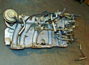 1981 82 Nissan Datsun 280ZX W24  Intake Manifold Complete-Nice Clean-Guaranty T2