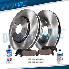 Front Disc Rotors & Brake Pads Toyota Highlander Sienna Brakes Rotor Pad Kit