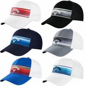 Callaway Stripe Mesh Hat 2020 Adjustable Golf Cap New - Choose Color!