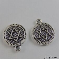 Antique Silver Alloy Mysterious Magic Charms Pendants Findings Craft 40x 50765