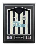 Jamaal Lascelles Signed Shirt Newcastle Framed Autograph Jersey Memorabilia COA