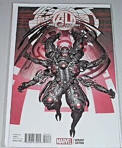 Age Of Ultron #4! (2013) Rare Rock-He Kim 1-in-25 Variant! NM!