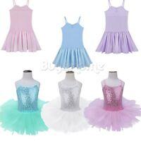 Ballet Tutu Princess Dress Up Dance Wear Costume Party Girls Toddler Kids Skirt!