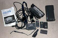 Sony CCD-TR1E HI8 Handycam Camcorder + viel Zubehör - Antrieb schwach?