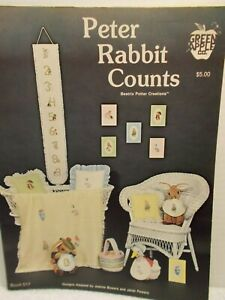 Peter Rabbit Counts--Cross Stitch and Needlepoint