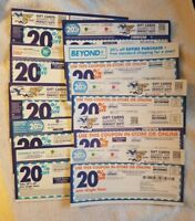Bed Bath & Beyond 20% Off Single Item Coupons - 10 Coupon Lot #1