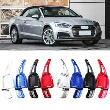 Alloy Steering Wheel DSG Paddle Extension Shifters Cover Fit For Audi A5 17-2019