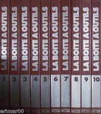 La Boite à Outils / Les Doigts d'Or du bricolage // 10 Volumes // Editions Atlas