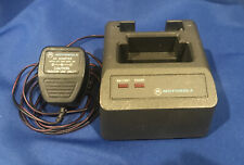 Used Motorola Minitor Ii Pager Charger, Clean Tested & Working Nrn4952A