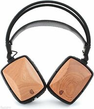 Griffin WoodTones Lightweight Super Bass Over the Ear Headphones with Mic