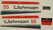 Johnson Outboard Hood Decals 1979 55hp