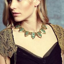 Free People Serena Collar Statement Necklace by Cleobella $268