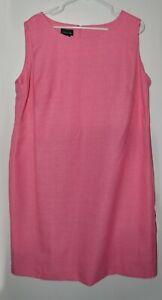PINK Leslie Fay sleeveless women's dress size 18WP