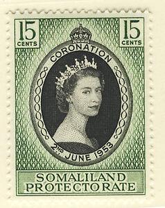 SOMALILAND 1953 CORONATION  MNH