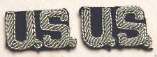 GENERAL / OFFICER'S BULLION U.S. COLLAR DEVICES VINTAGE USAF SHADE 84 BLUE