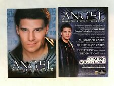 CHEAP PROMO CARD: Angel Season 4 Inkworks 2003 #A4-SD2003 ONE SHIP FEE PER ORDER
