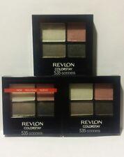 Lot of (3) Revlon ColorStay 16 Hour Eye Shadow Quad in #535 - Goddess *Sealed*
