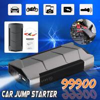 99900mah 12V LED Chargeur Batterie Voiture Démarrage Démarreur Booster