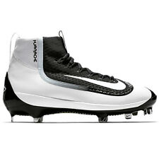 Mens Nike Air Huarache 2K Filth Mid Metal Baseball Cleats 2KFilth BLACK WHITE  8