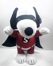 Superhero Snoopy Halloween Greeter Gemmy Porch Sitter Decoration 2ft Tall