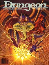 DUNGEON MAGAZINE #15 NM! AD&D D&D TSR 1989 ISSUE 15 Dungeons & Dragons Modules