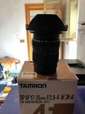 Tamron SP AF DI LD IF 17-35 mm f/2.8-4 grandangolo per Canon