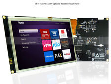 1024x600 7 inch TFT LCD Display Module Resistive Touch Screen  Serial SPI I2C