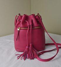 Fossil Pomegranate Jules Drawstring Bucket Shoulder Crossbody Bag
