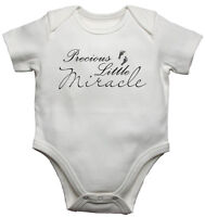 Precious Little Miracle Newborn/Toddler Baby Vest Gift Bodysuit/Grow  Boys Girls