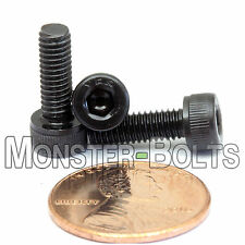 4mm x 0.70 x 12mm - Qty 10 - SOCKET HEAD CAP Screws 12.9 Alloy Steel Black Ox M4