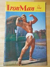 IRONMAN bodybuilding muscle fitness magazine/JACK DELINGER 1-58