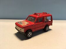 Diecast Majorette Range Rover No. 246 Red 1/60 Wear & Tear Used Condition