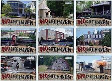 Walking Dead Evolution No Safe Haven Complete 9 Card Chase Set