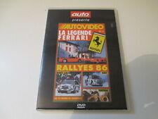 DVD AUTO PASSION AUTOVIDEO N° 11 D PIRONI FERRARI 24H CHAMONIX RALLY 1986 SUEDE