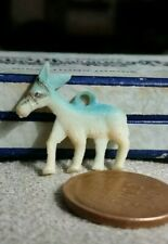Vintage Celluloid Donkey Mule Burro gumball charm prize jewelry