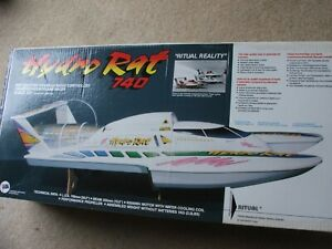 HYDRO RAT 740- HYDROPLANE RACER-  1:20th SCALE-NEW IN BOX -UNSTARTED