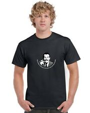Terry Thomas Club for Cads and Bounders Black T Shirt