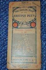 MICHELIN ROAD MAP BRITISH ISLES NO. 16, 1914-18, MICHELIN TIRE COMPANY