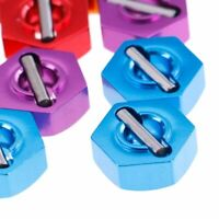 4 x Aluminum Hex Nuts RC 1:10 Scale Upgrade Fancy Spare Repair Parts Wheel Gift