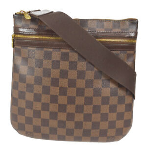 LOUIS VUITTON POCHETTE BOSPHORE SHOULDER BAG PURSE DAMIER MI2087 cvs 90996