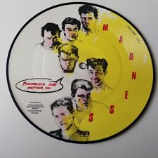 """Madness - Tommorow's Just Another Day - Vinyl 7"""" Picture Disc Single NM"""
