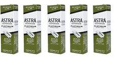 500 pcs Astra Superior Platinum Double Edge Shaving Razor Blades Barber Favored