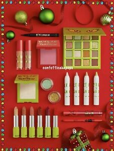 NEW Kylie Cosmetics x The Grinch COMPLETE COLLECTION Palette Lipstick Gloss