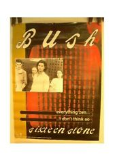 Bush Poster 'Sixteen Stone'