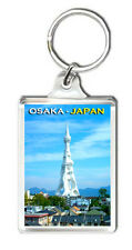 OSAKA JAPAN PL PEACE TOWER KEYRING SOUVENIR LLAVERO